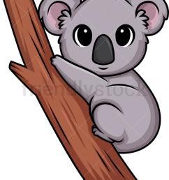 chibi kawaii koala bear vector cartoon clipart [ 818 x 1000 Pixel ]