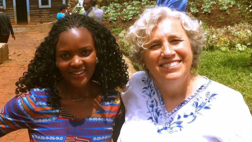 Minga with co-facilitator Tamar