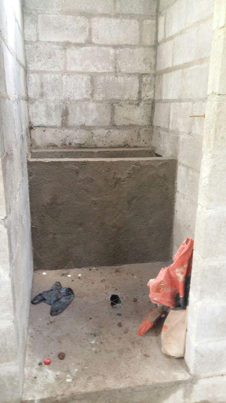 foundation addition bathroom