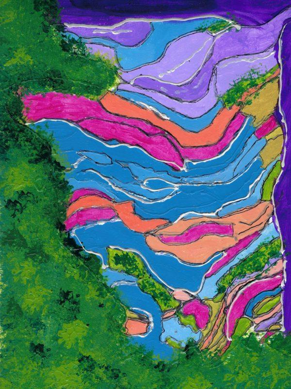 AT Natures Kaleidoscope 9×12 Mixed $40 9-18