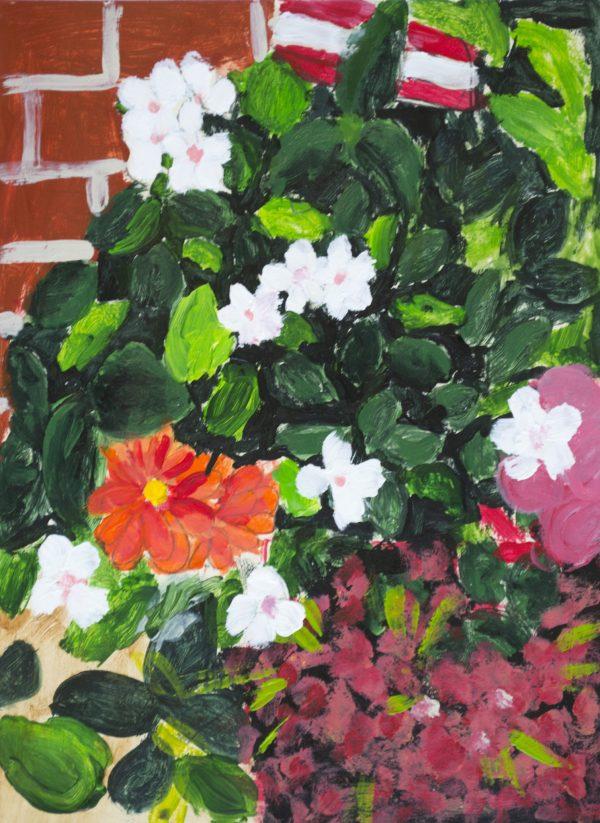 ADM Full Bloom 9×12 acrylic $40 9-17