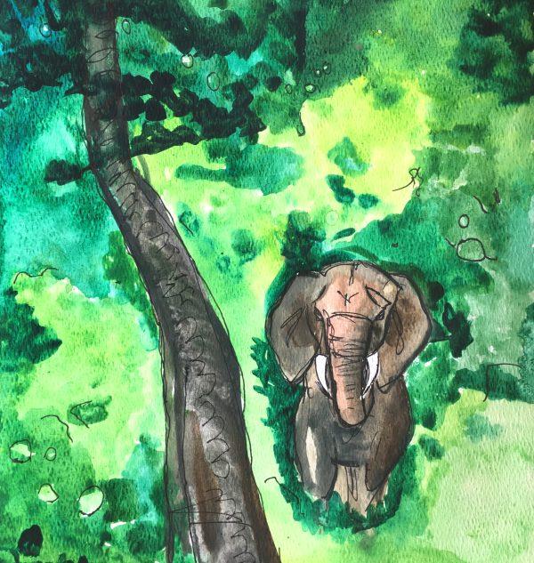TS Ivory Tusks 10×11 Mixed $50 5-19