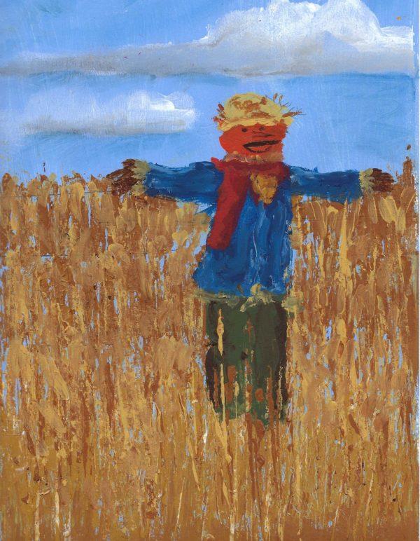 AM autumn harvest 9×12 mixed $40 9-17