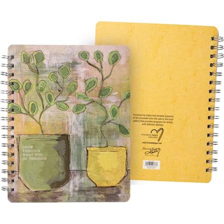 Spiral Notebook – Grow Through What You Go Through