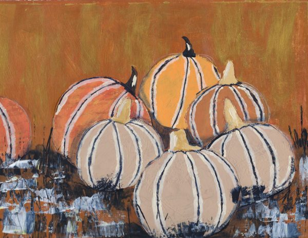 BiS Gathering of Gourds 9×12 mixed 11-18 $50