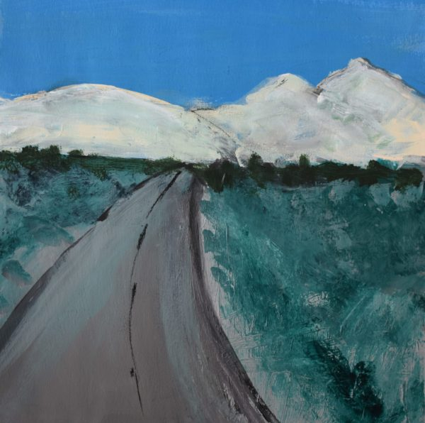 CG Mountain Road 9×9 Acrylic $45 12-16