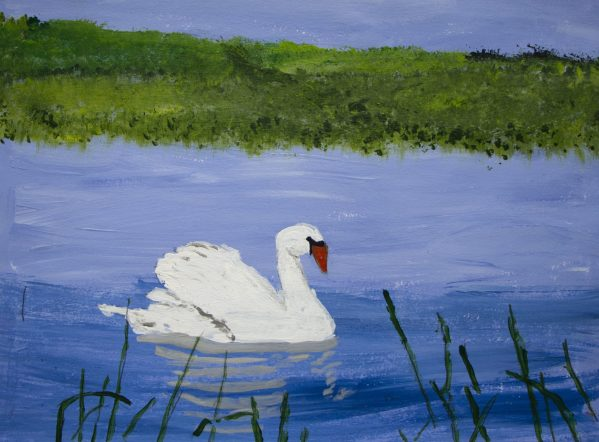 DS Graceful and Elegant 11×14 acrylic $60 6-19