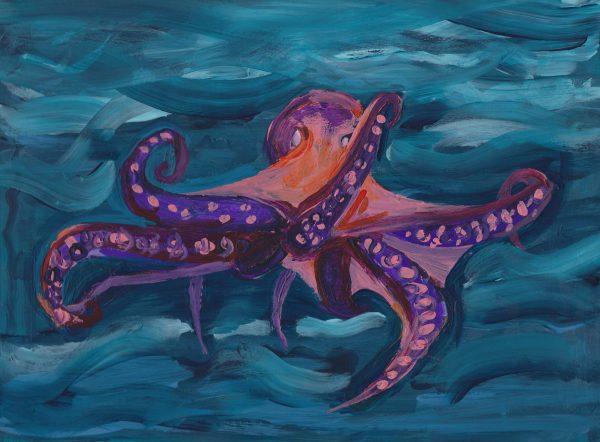 EH Cephalopod Ink 9c12 acrylic $50 5-19