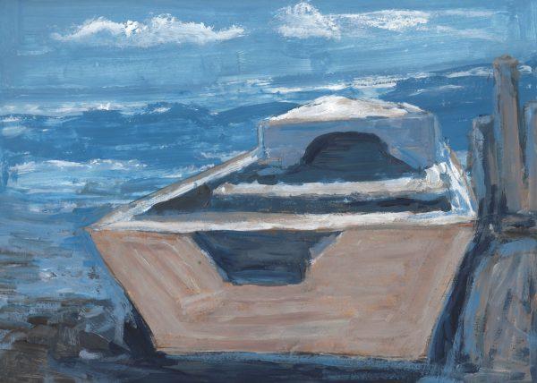 RP Sailing Somewhere 9×12 acrylic $45 4-17