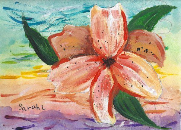 SaL A Taste of Hawaii 9×12 mixed $50 4-19