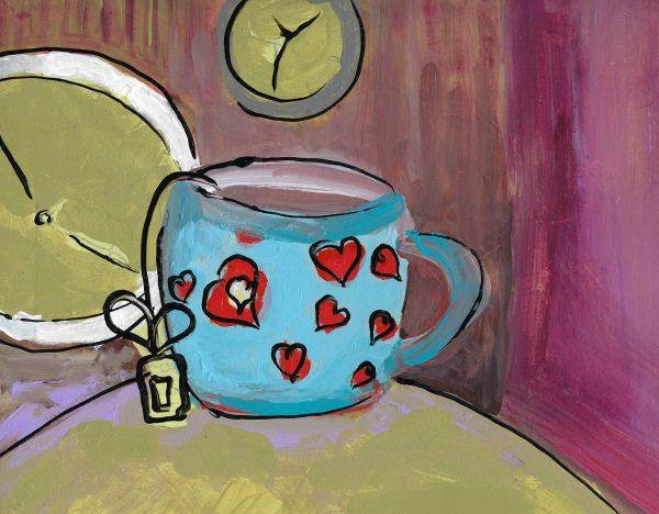 ShL tea time 9×12 mixed 1-18 $40