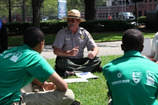 Ranger Hugh, a mentor to the SCIP program, shared ideas for putting together a federal resume