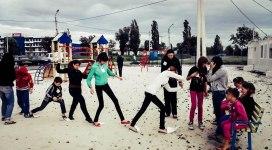 AVP workshop with children in Kharkiv
