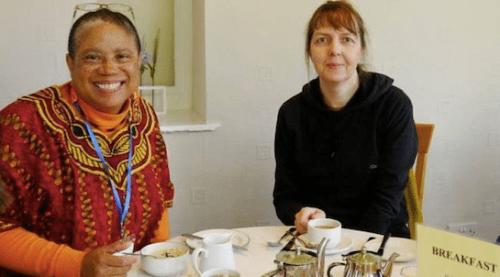 Vanessa Julye and Natasha Zhuravenkova, co-clerks of QUIP