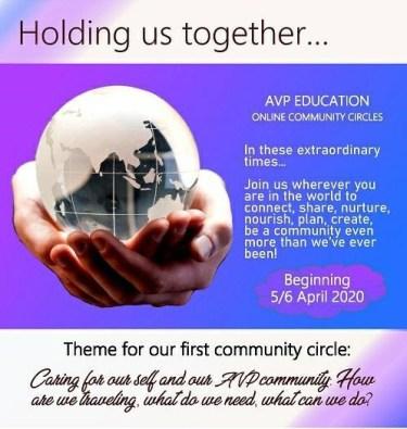 AVP online community circles