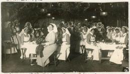 """""""Xmas 1916, sisters xmas dinner."""" Image J-00784/RBCM&A"""