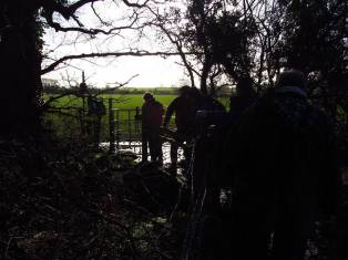 Walk To The Source - 30/01/2016. - The fields between Whitchurch and Dundry. (photo courtesy of Ruth Revell)