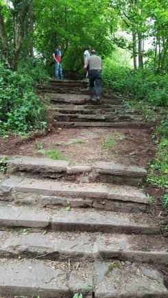 Revamping the steps.