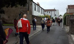 Midday pageant start from the Kings Arms through the streets of Brislington.