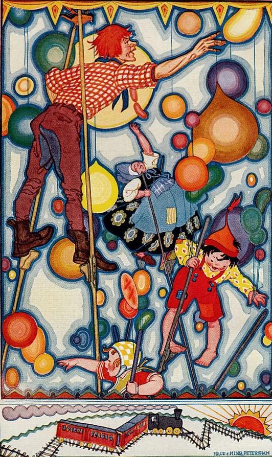 Carl Sandburg's Rootabaga Stories artwork