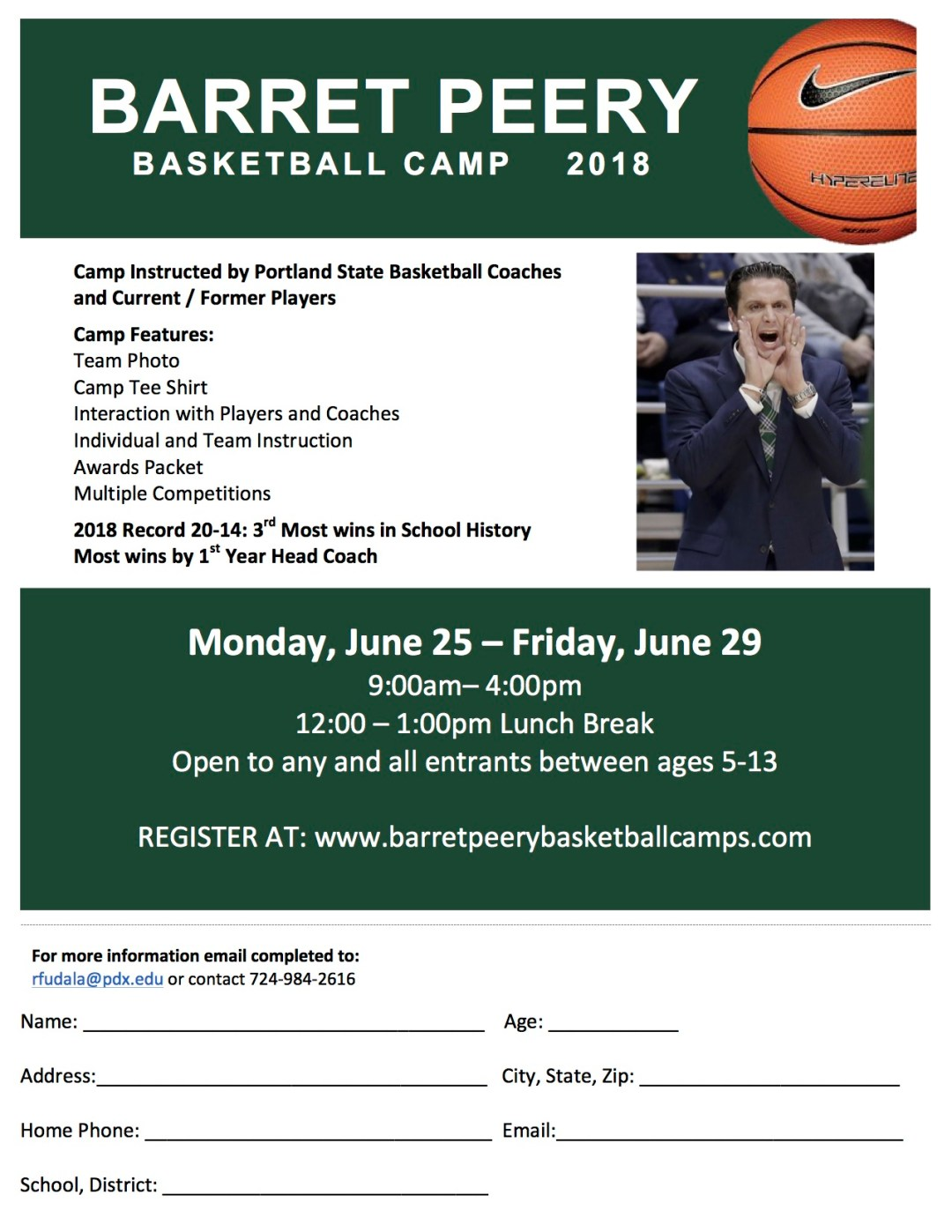 Basketball Camp Brochure NEW