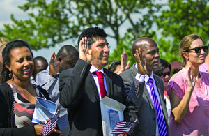 Chatham plays host to citizenship ceremony