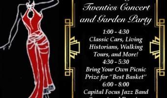 Roaring Twenties Concert and Garden Party