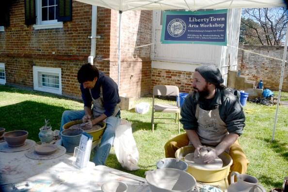 Libertylown pottery
