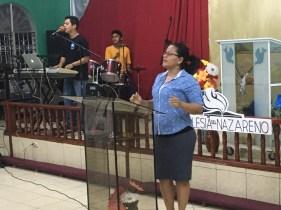 Francisco led worship