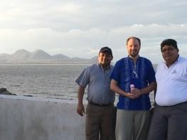 Con mi amigos, Adolfo y Paulino