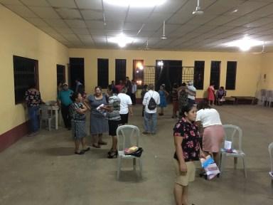 Fellowship after church