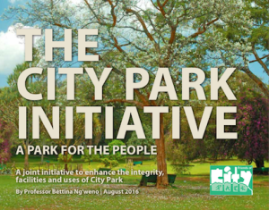 The City Park Initiative cover