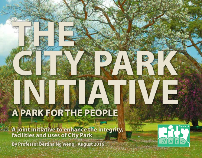 Cover - The City Park Initiative
