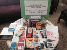 Pen Pal Donation