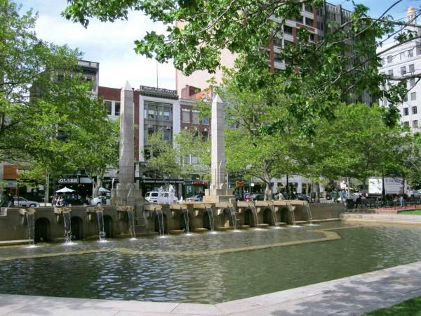 Boston Copley Square Fountain