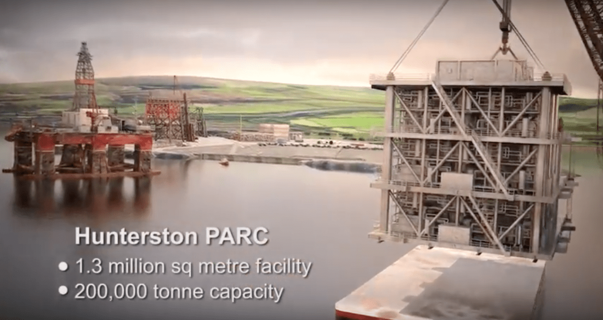 A legal case for Review of Schedule 1 Environmental Impact Assessment decisions for Hunterston PARC Peelports Oil Rig Project?