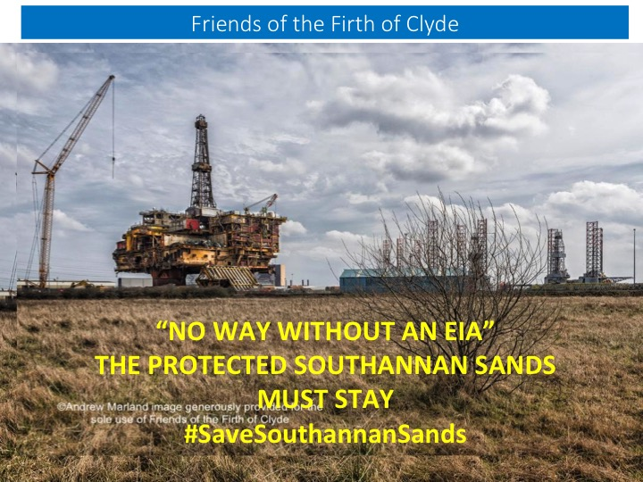 Support for #SaveSouthannanSands Campaign Grows: 100 attend public meeting at Largs Academy, 8th August 2019