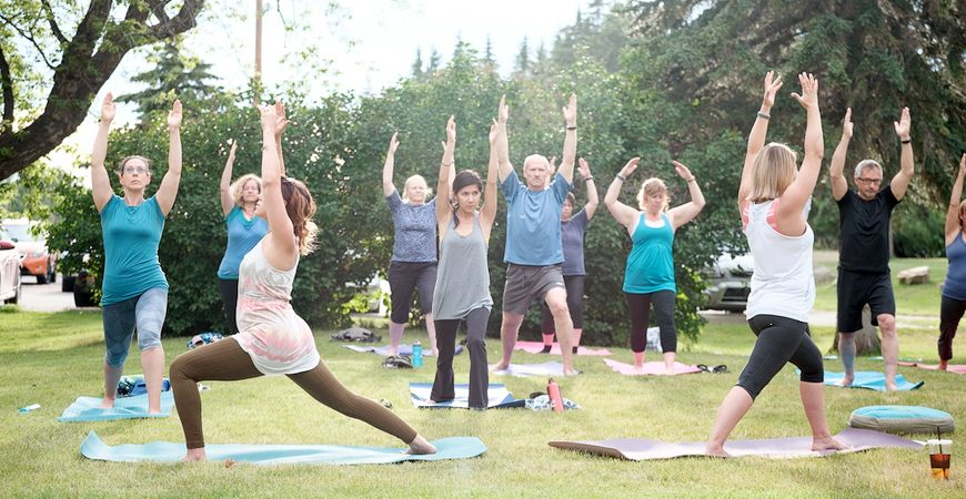 Yoga in Fish Creek