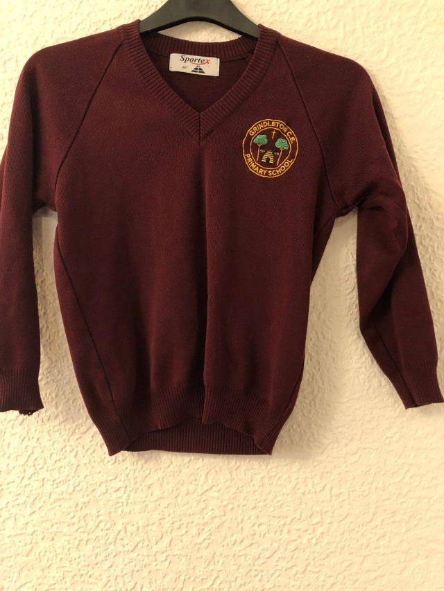 Grindleton School Jumper (size 32