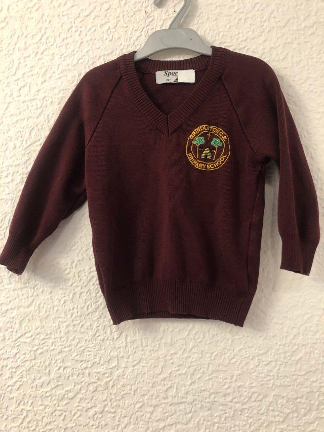 Grindleton School Jumper (size 26