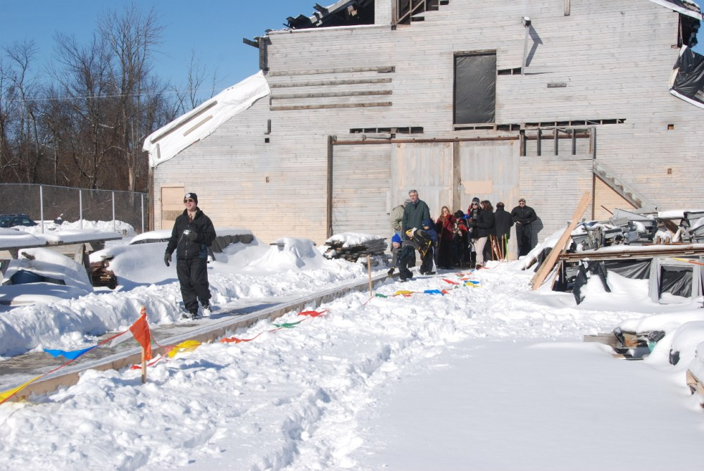 Slithering and Sliding Snow Snakes at Highland State Recreation Area! (6/6)