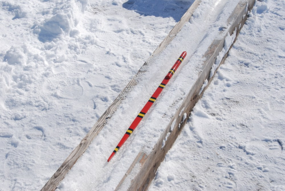 Slithering and Sliding Snow Snakes at Highland State Recreation Area! (2/6)