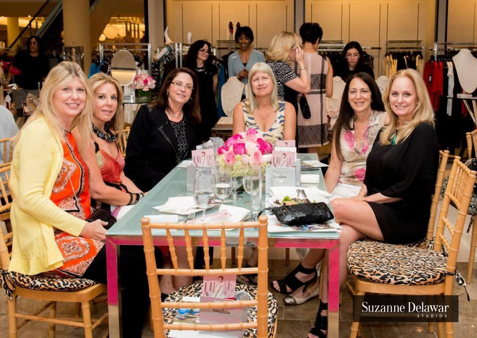 From left to right: Dorian Rosen, Rita Benghiat, Susan Seymour, Andrea Sante, Julie Cattenacci-Gonzalez, Karen Taylor
