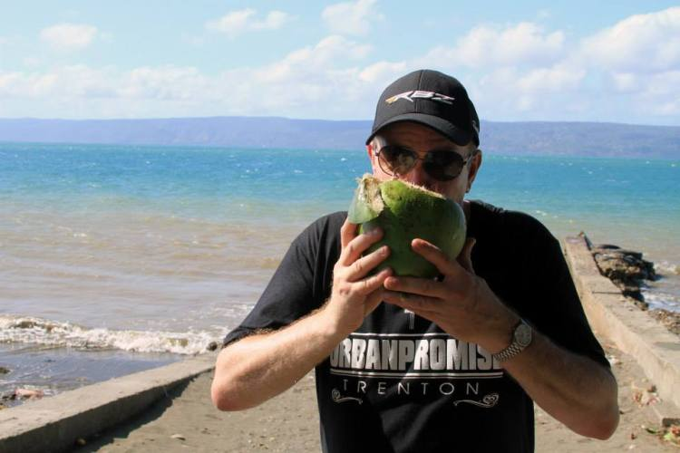 andrew smith drinks coconut water