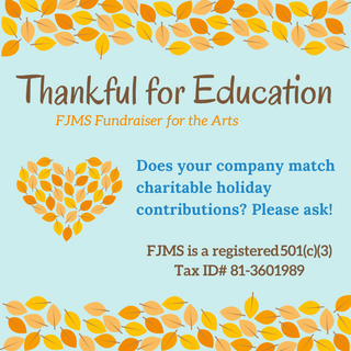 Thankful for Education 2017 – Fundraiser for the Arts