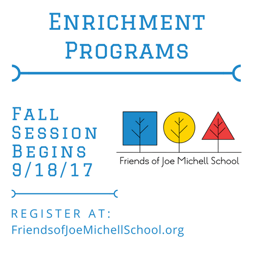Fall 2017 Enrichment Classes