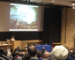 Professor Duffy addresses the delegates