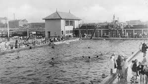 After swimming in the River Nene the Lido was a luxury