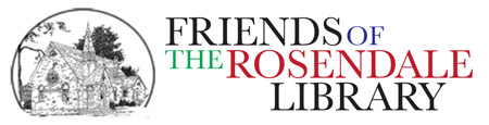 Friends of the Rosendale Library logo