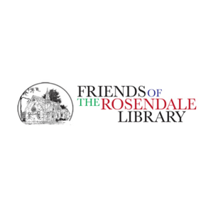 Friends of the Rosendale library (logo)